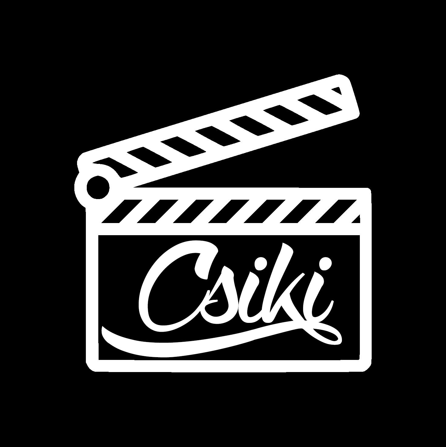 Csiki Film esküvői videó logó
