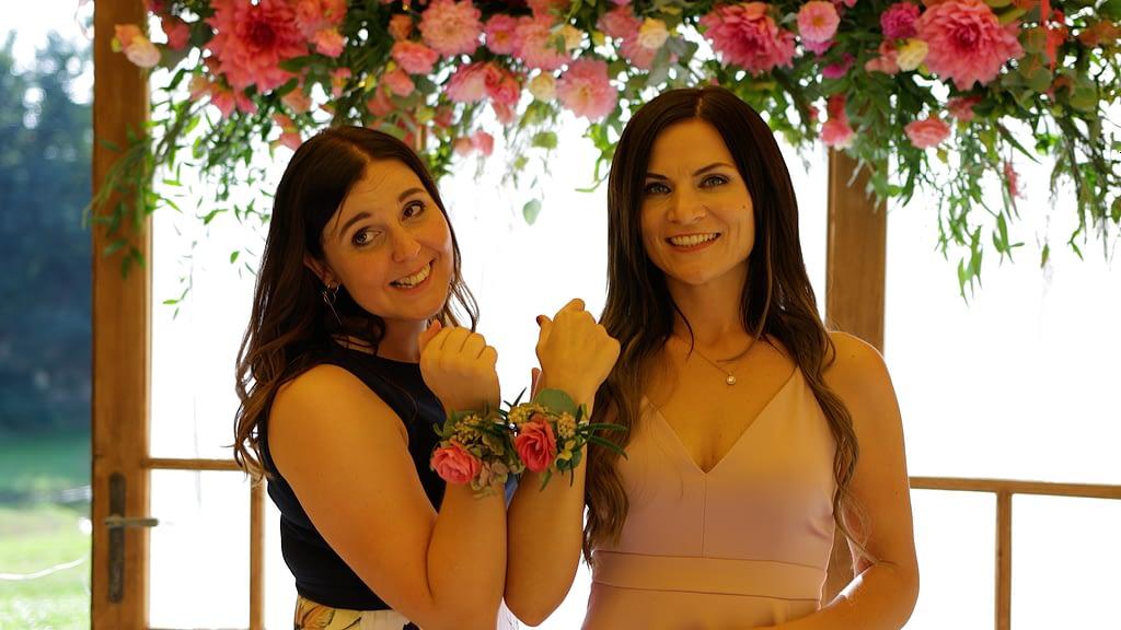 Ancsi és Norbi esküvői videója, Csajok a Malomkert Panzióban, Szobon