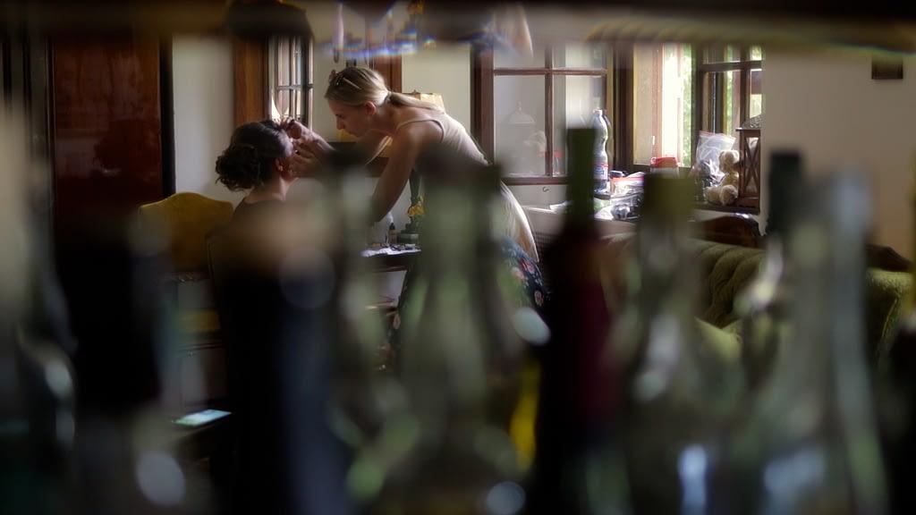 Esküvői Videó Zebegényben, Kitti sminkelése